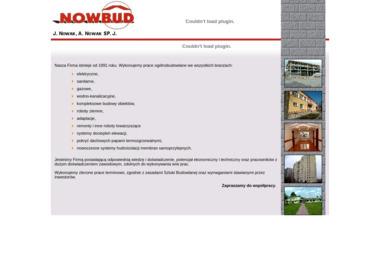 Nowbud. Budowa obiektów, roboty ziemne, instalacje - Budowa domów Łapiguz