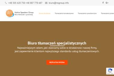 NSGroup.Tłumaczenia pisemne, tłumaczenia ustne - Tłumacze Szczecin