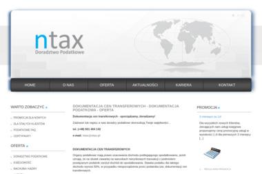 NTAX Doradztwo Podatkowe Ewa Nowak. Doradca podatkowy - Biuro rachunkowe Miko艂ów