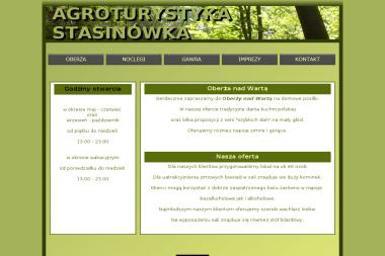 Agroturystyka Stasinówka - Catering Chorzępowo `
