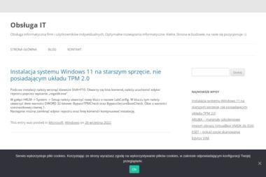 AP Computers. Obsługa informatyczna firm, projektowanie stron www, kursy komputerowe - Strony internetowe Zabrze