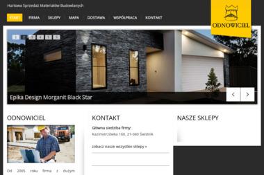 Odnowiciel Materiały Budowlane Jarosław Frankiewicz - Skład budowlany Świdnik
