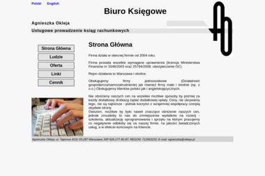 Okleja Agnieszka - Biuro Rachunkowe Nowy Pilczyn