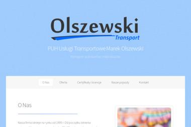 PUH Usługi Transportowe Marek Olszewski - Przewóz osób Suwałki