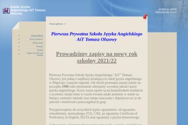 Pierwsza Prywatna Szkoła Języka Angielskiego AiT. Tomasz Olszowy - Tłumacze Biłgoraj