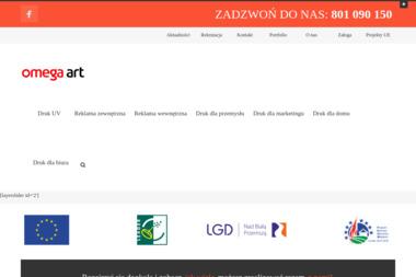 Centrum Poligraficzno-Reklamowe Omega Art. - Usługi Poligraficzne Olkusz