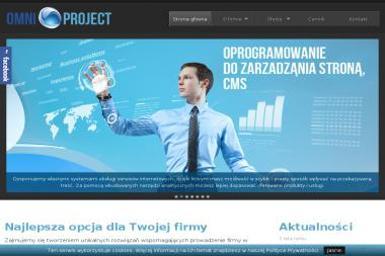 omniproject.pl - Strony WWW Sosnowiec