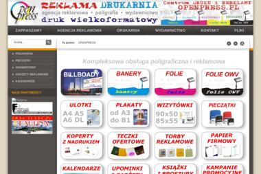 Centrum Druku i Reklamy Openpress Marek Krekora Włodzimierz Szawarniak S.C. - Drukarnia Biała Podlaska
