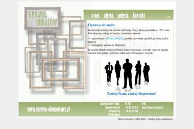 Zakład Usługowy Rama-Oprawa Obrazów i Szklarstwo - Drukowanie Wielkoformatowe Zawiercie