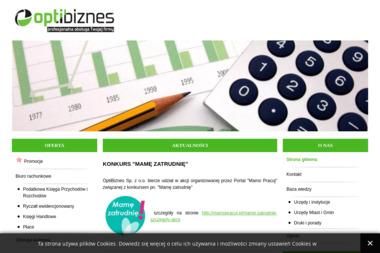 OptiBiznes Sp. z o.o. - Biuro rachunkowe Dobczyce