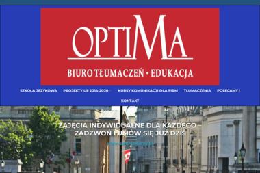 Optima szkoła języków obcych - Kurs francuskiego Opole