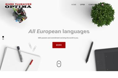Biuro tłumaczeń Optima - Tłumacze Elbląg