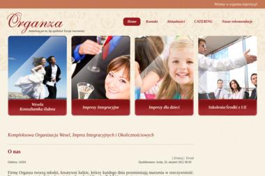 Organza. Organizacja wesel, organizacja imprez integracyjnych, organizacja imprez okolicznościowych - Catering Bydgoszcz