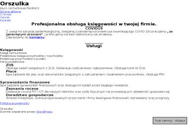 Biuro Rachunkowe ORSZULKA - Biuro rachunkowe Racibórz
