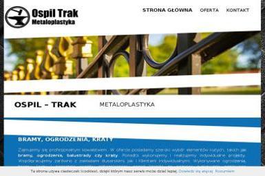 OSPIL-TRAK F.P.H.U. - Ślusarz Osęka