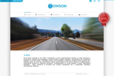 Owson Zygmunt Owczarz - Transport spedycja - Transport ciężarowy krajowy Opole
