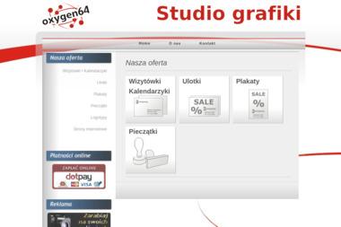 Dawid Krupa Studio Grafiki Użytkowej Oxygen 64 - Fototapety na Wymiar Zgorzelec