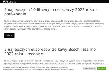 P 7Studio. Wideofilmowanie, tworzenie stron, projektowanie stron www - Agencja interaktywna Gołdap