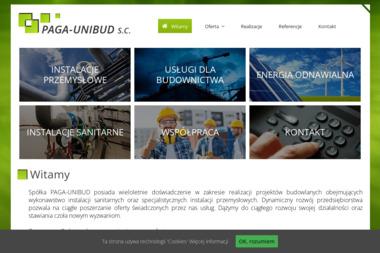 PAGA – UNIBUD - Instalacje Budowlane Krapkowice