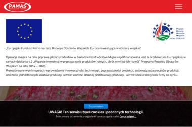 PAMAS Piotr Matuszok & Synowie Producent Salami Dojrzewającego - Transport Ładunków Kolonowskie