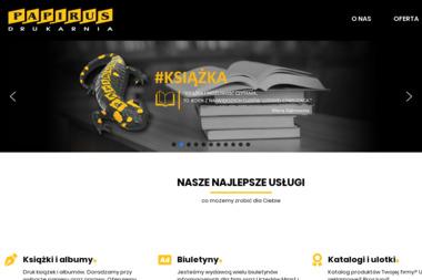 Drukarnia Papirus - Banery Reklamowe Jarosław