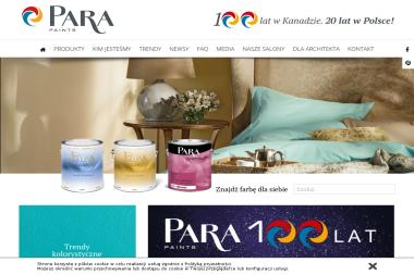 Salon firmowy Para (Studio Farb Para) - Projektowanie Wnętrz Tarnów