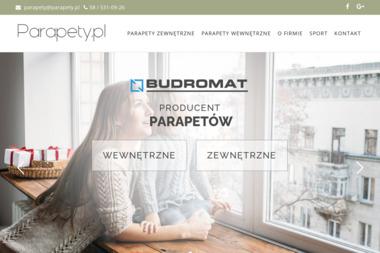 P.P.H.U. BUDROMAT - Parapety kamienne Tczew