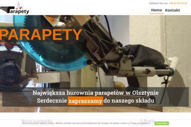 Parapety - Okna PCV Olsztyn