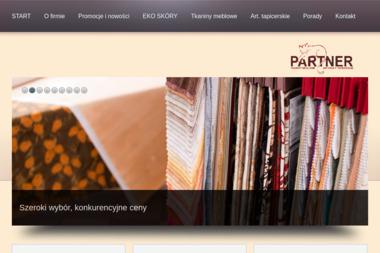 Partner. Tkaniny meblowe, artykuły tapicerskie, eko skóry - Tapicer Wejherowo
