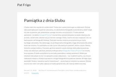Patfrigo Sp. z o.o. - Transport busem Wałbrzych