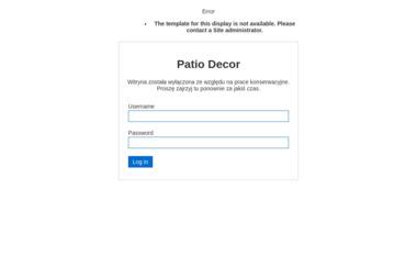 Patio Decor - Projektowanie wnętrz Dopiewo
