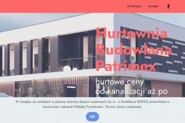 PATRIMEX Materiały budowlane i wykończeniowe - Okna PCV Piątek