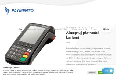 Paymento S.A. - Strona Internetowa Tychy