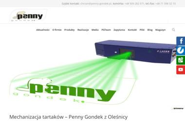 Penny Gondek Sp. z o.o. - Pozycjonowanie stron Oleśnica