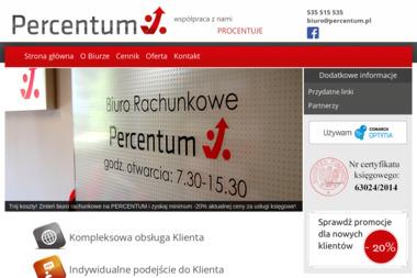 Biuro Rachunkowe Percentum - Prowadzenie Księgi Przychodów i Rozchodów Bytom