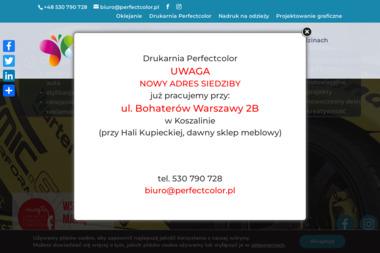 Studio Graficzne Perfectcolor - Strony internetowe Koszalin