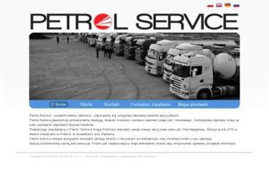 Petrol Service Sp. z o.o. - Transport busem Suwałki