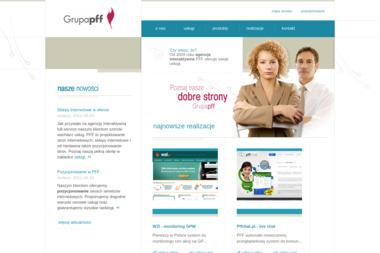 Grupa Pff - Promocja Firmy w Internecie Mysiadło