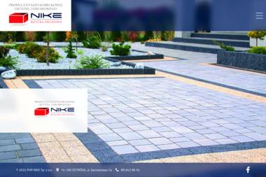 PHP NIKE Sp. z o.o. - Kostki Brukowe OSTRÓDA