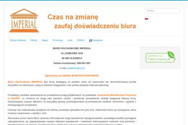 PHU Imperial Biuro Rachunkowe Danuta Nowak. Usługi księgowe - Sprawozdania Finansowe Oleśnica