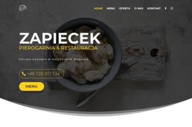 Pierogarnia Zapiecek. Pierogi, naleśniki, desery - Firma Gastronomiczna Czechowice-Dziedzice