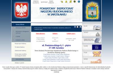 Powiatowy Inspektorat Nadzoru Budowlanego - Kierownik budowy Jarosław
