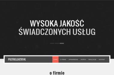 Zakład Instalatorstwa Elektrycznego - Piotr Burzycki - Elektryk Suwałki