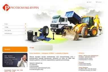 Tadeusz Piotrowski Firma Handlowo Usługowa Koral - Transport busem Rypin