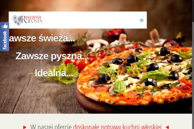 Pizzeria Riposta. Pizza, makarony, shoarma - Catering Dla Firm Piotrków Trybunalski