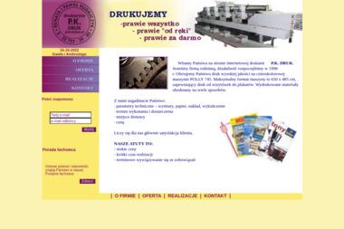 Drukarnia PK Druk - Druk katalogów i folderów Jawczyce
