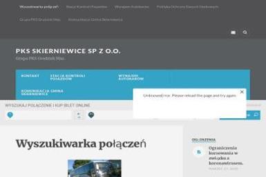 Przedsiębiorstwo Komunikacji Samochodowej w Skierniewicach Sp. z o.o. - Przewóz osób Skierniewice