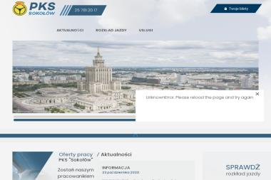 Przedsiębiorstwo Komunikacji Samochodowej Sokołów w Sokołowie Podlaskim S.A. - Przewóz osób Sokołów Podlaski
