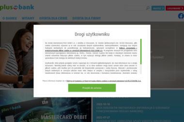 Plus Bank Oddział Ostrołęka - Kredyt hipoteczny Ostrołęka