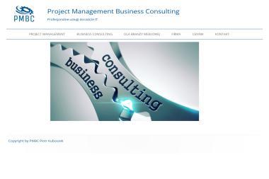 PMBC. Piotr Kuboszek. Project management, konsulting - Windykator Tychy